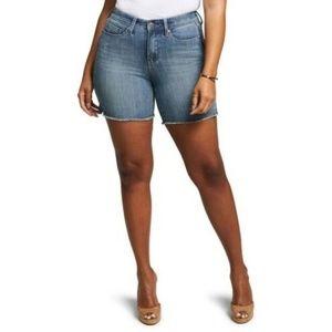 CURVES 360 BY NYDJ Shape Slim Straight Shorts 16